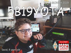 David Ruse, 8 years old